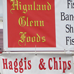 image of Haggis, Fish and Chips