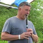 image of Don on practice chanter